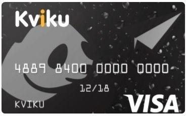 KVIKU кредитная карта без поручателей