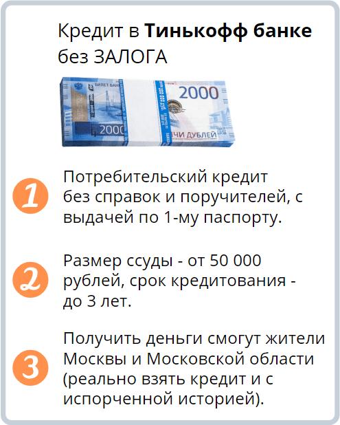 наличный кредит для москвичей