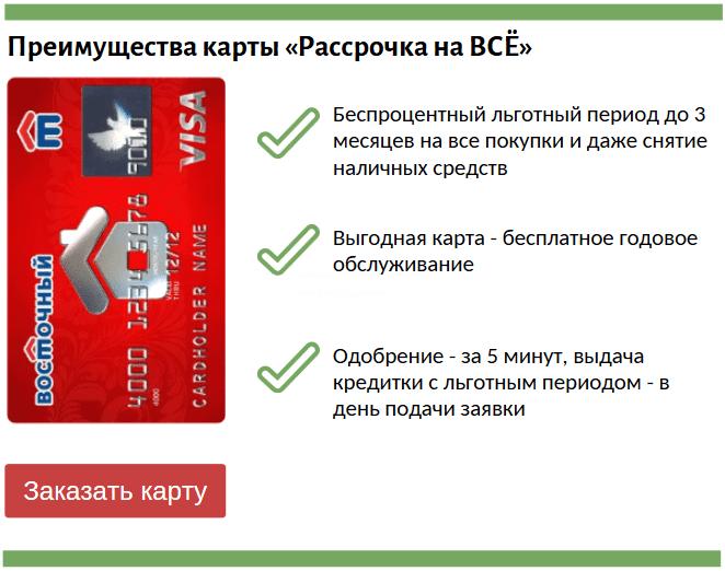 кредитка со льготным периодом