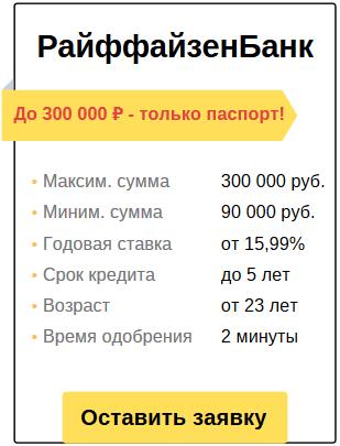 подача заявки на кредит без справок