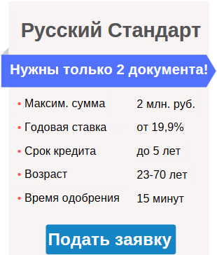 условия кредитования в Москве без 2-НДФЛ