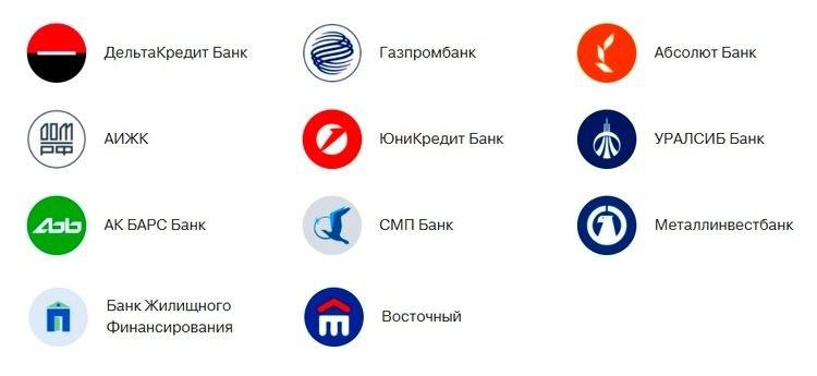 партнеры банка тинькофф по ипотеке