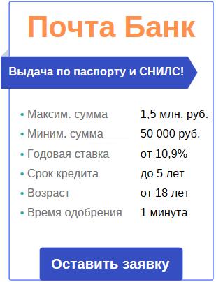 онлайн-заявка на кредитование без справки о доходе