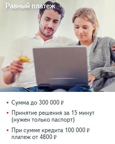 условия по потребительскому кредиту с самыми низкими процентами