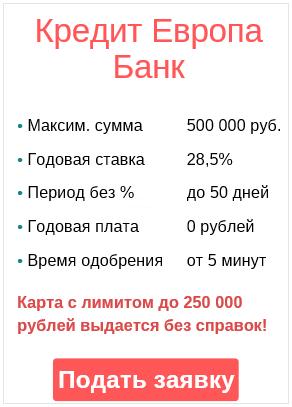 онлайн-заявка на кредитку непосредственно через интернет