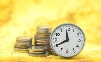 часы деньги